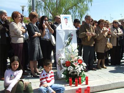 Carta del pueblo de La Cistérniga a Francisco Javier Sanz Morales